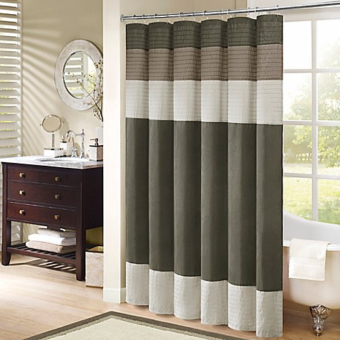 bathroom shower curtains. Madison Park Amherst Shower Curtain  Bed Bath Beyond