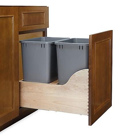 Rev A Shelf 174 4wcsc Series 35 Quart Double Waste Container