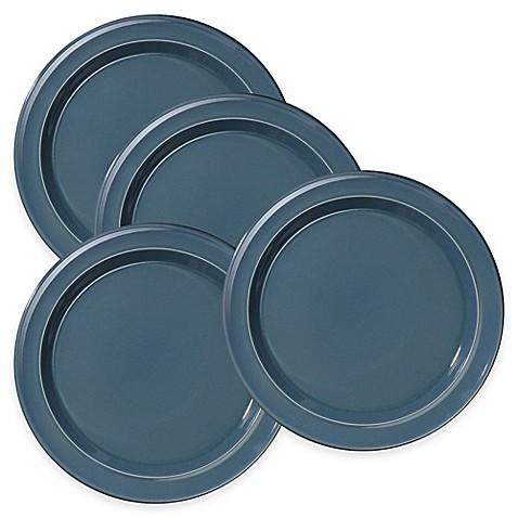 Emile Henry Dinner Plates in Blue Flame (Set of 4)  sc 1 st  Bed Bath u0026 Beyond & Emile Henry Dinner Plates in Blue Flame (Set of 4) - Bed Bath u0026 Beyond