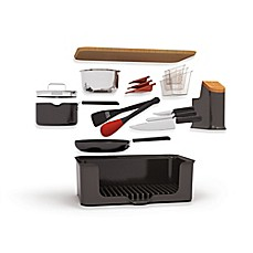 image of Kitchen in a Box 14-Piece Set in Black