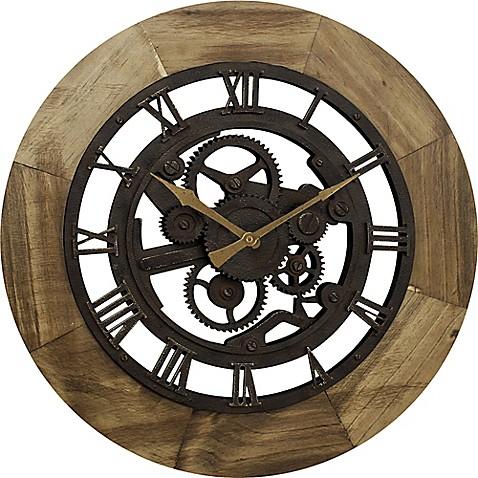 Firstime 174 Gear Wall Clock In Bronze Bed Bath Amp Beyond