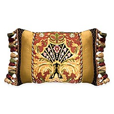 image of Austin Horn Classics Ashley Oblong Throw Pillow in Gold