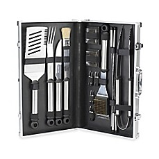 image of Picnic at Ascot 20-Piece BBQ Stainless Steel Master Grill Tools