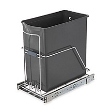 image of real simple 30 liter pull out trash can - Decorative Trash Cans