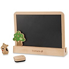 image of 2-Sided Dry Erase/Chalkboard Drawing Tablet
