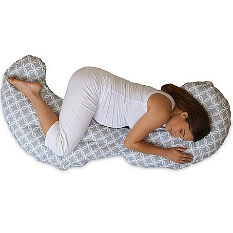 Boppy 174 Slipcovered Total Body Pillow In Ring Toss Buybuy