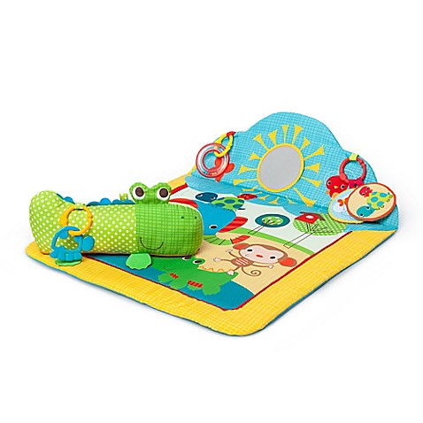 Bright Starts Cuddly Crocodile Play Mat Bed Bath Amp Beyond