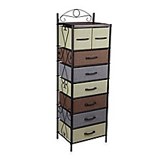 Image Of Household Essentials® 8 Drawer Tower In Black