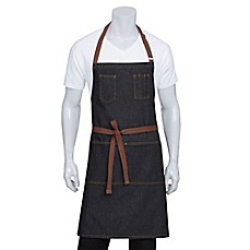 Charmant Image Of Chef Works® Memphis Denim Bib Apron In Black ...