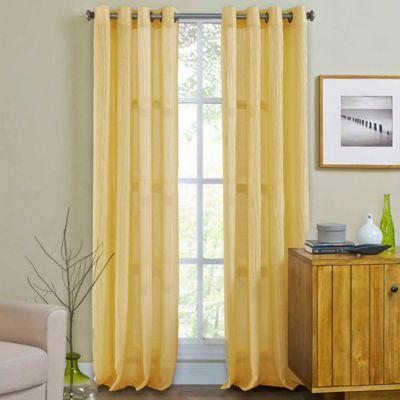Weston Grommet Top Window Curtain Panel Bed Bath Amp Beyond