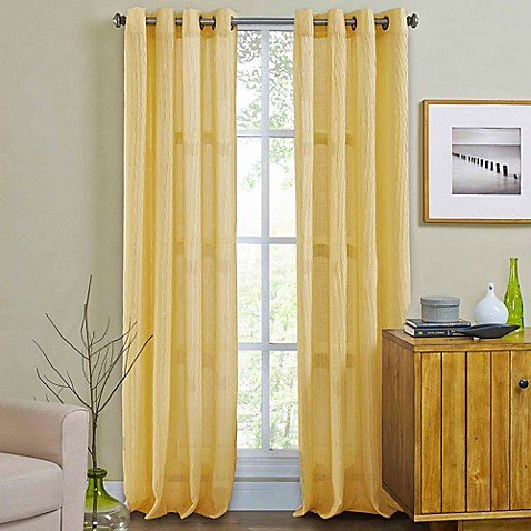Buy Weston 108 Inch Grommet Top Window Curtain Panel In