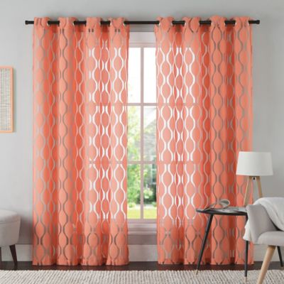 Vcny Aria Window Curtain Panel Bed Bath Amp Beyond