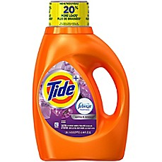 image of Tide® 46 oz. Febreze Freshness Laundry Detergent in Spring and Renewal