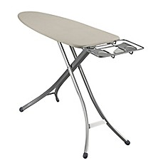 image of Household Essentials®  Lightweight Wide Top Ironing Board with Aluminum Legs