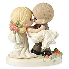 image of Precious Moments® On the Threshold of a Lifetime of Happiness Figurine