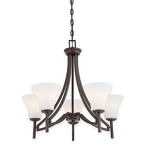 Minka lavery middlebrook light fixture collection in vintage bronze bed bath beyond for Minka bathroom light fixtures