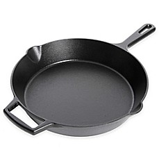 image of Artisanal Kitchen Supply™ Pre-Seasoned Cast Iron Skillets