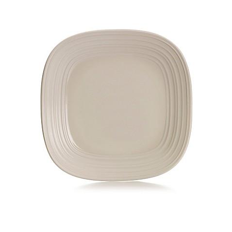 Mikasa® Swirl Square Dinner Plate in Cream - Bed Bath & Beyond