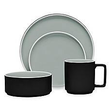 image of Noritake® ColorTrio Stax Dinnerware Collection in Graphite