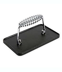Prensa para parrilla Artisanal Kitchen Supply®, precurada de hierro fundido 20.32 x 12.7 cm