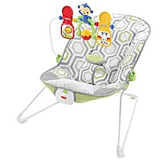 image of Fisher-Price® Baby's Bouncer in Geo Meadow™