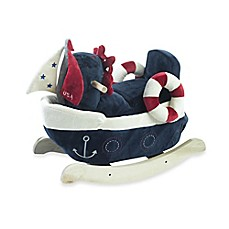 image of Rockabye™ America the Sailboat Musical Rocker
