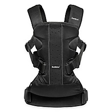 image of BABYBJORN® Baby Carrier One Air in Black Mesh