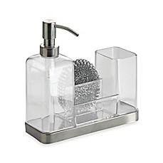 image of InterDesign® Forma Soap & Brush Caddy