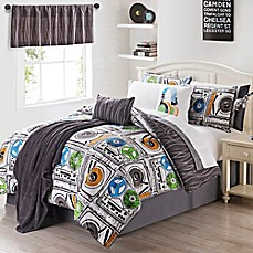 image of VCNY 11-13 Piece Turn It Up Comforter Set