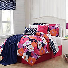 image of VCNY 11-13 Piece Taylor Reversible Comforter Set