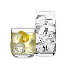 image of Bormioli Rocco Dailyware Loto Glasses (Set of 16)