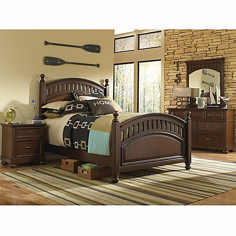 Pulaski Expedition Bedroom Furniture in Brown Bed Bath