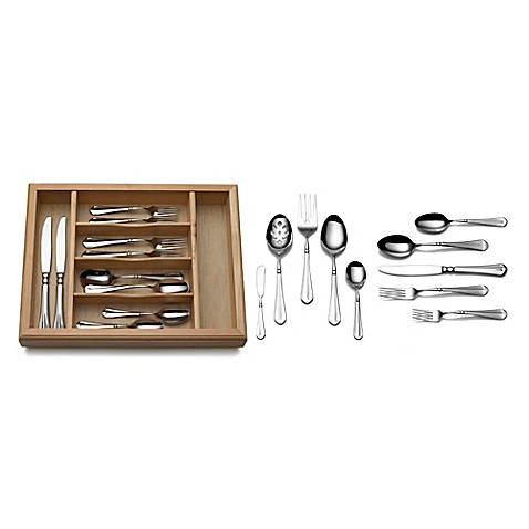 french countryside 65piece flatware set