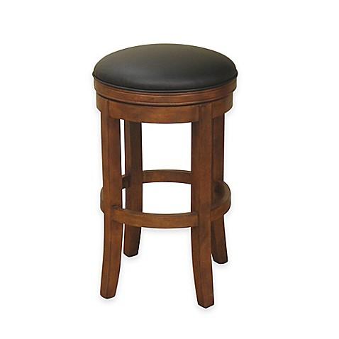 Buy American Heritage Winston Swivel Bar Stool In Amaretto