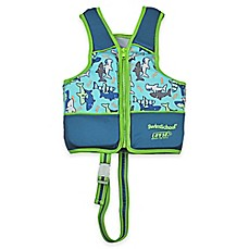 image of Aqua Leisure® SwimSchool® Printed Swim Vest in Blue