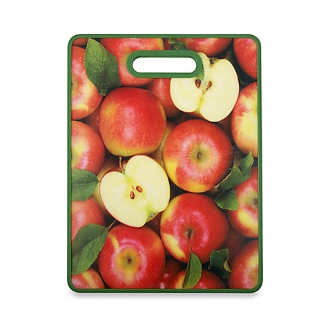 Apples Fruit And Veggie Cutting Board Bed Bath Amp Beyond