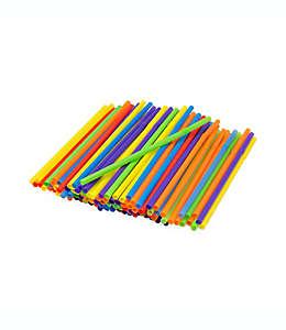 Popotes flexibles, Paquete de 125 piezas