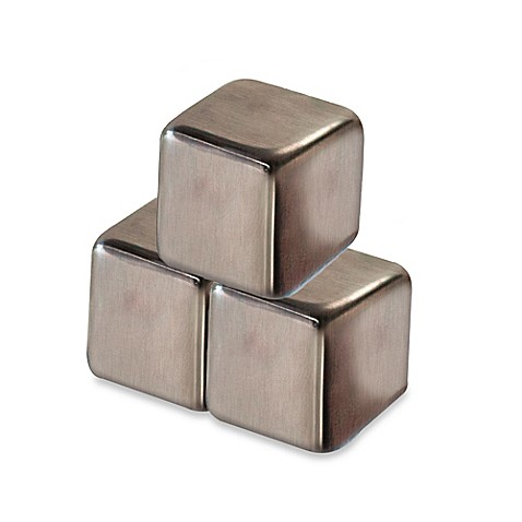 Stainless Steel Ice Cube Drink Chillers Set Of 4 Bed
