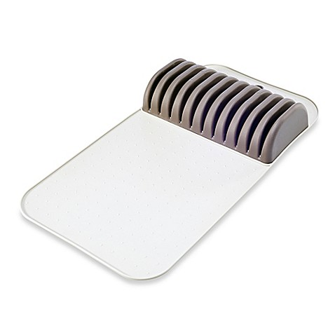 madesmart in drawer knife mat in grey bed bath beyond