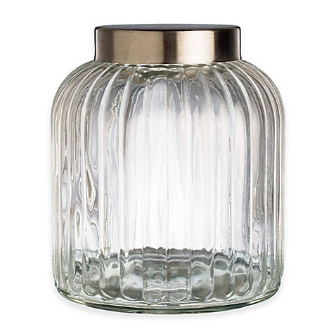 Vintage Glass Canister 12