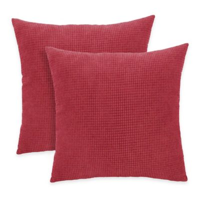 Arlee Decorative Body Pillow : Arlee Home Fashions Textured Woven Square Throw Pillow (Set of 2) - Bed Bath & Beyond