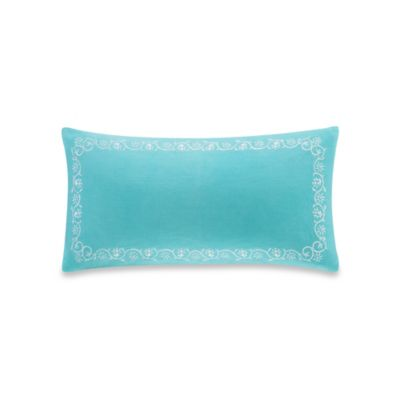 Echo Design Throw Pillows : Buy Echo Design Madira Border Oblong Throw Pillow in Teal from Bed Bath & Beyond