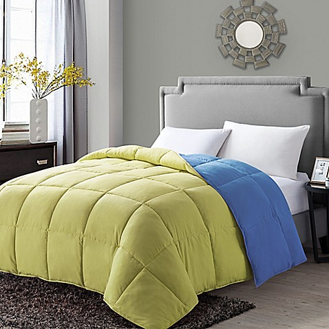 vcny paradise reversible down alternative comforter bed