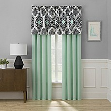 image of Cooper 84-Inch Window Curtain Panel Pair in Mint