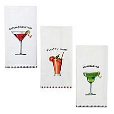 image of Park B. Smith® Cocktails Kitchen Towels (Set of 2)