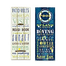 image of Outdoor Rules Canvas Wall Art Collection