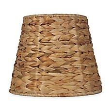 Small large lamp shades chandelier shades bed bath beyond image of mix match small 9 inch tropical seagrass unlined drum lamp shade aloadofball Image collections