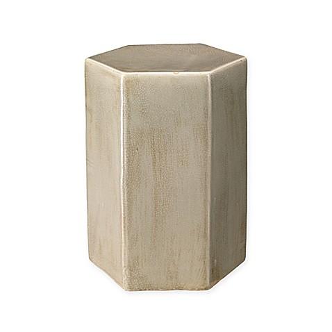 Jamie Young Ceramic Porto Drum Table