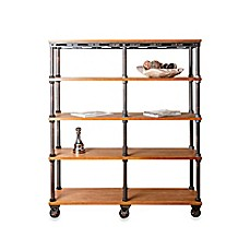 Image Of Abbyson Living Kingsley Entertainment Bookcase