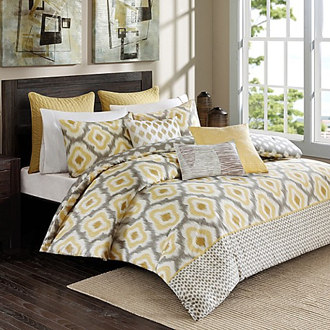 Ink Ivy Ankara Comforter Set In Yellow Bed Bath Amp Beyond